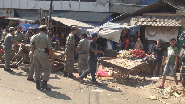 Pedagang Pasar Kragilan Diberi Waktu Seminggu untuk Pindah Ke Pasar yang Baru