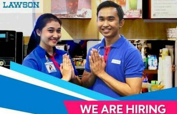 Lowongan Kerja Store Crew LAWSON Area Jabodetabek