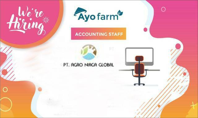 Lowongan Kerja Accounting Staff PT. Agro Niaga Global (AyoFarm) Kota Serang