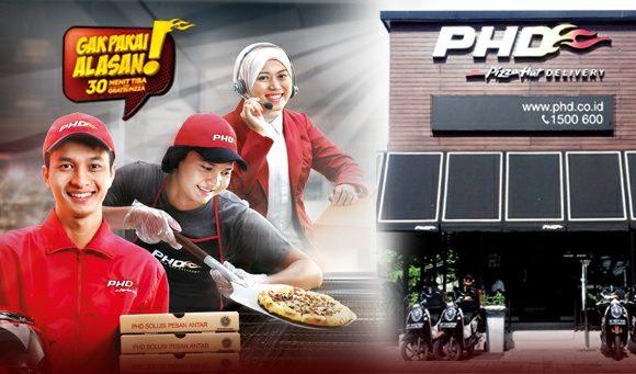 Lowongan Kerja Crew Cashier & Crew Delevery Pizza Hut Delevery (PHD) Cabang Cikupa Tangerang