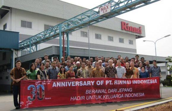 Lowongan Kerja Teknologi Informasi (IT Staff) PT. Rinnai Indonesia Penempatan Tangerang