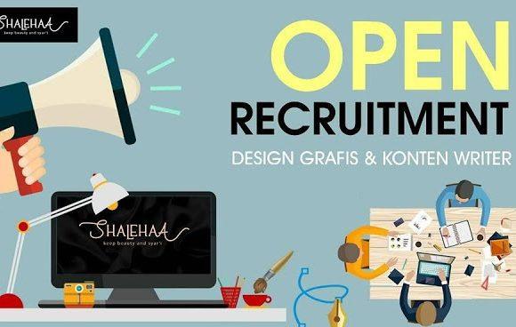Lowongan Kerja Design Grafis dan Content writer Shalehaa (Busana Muslim) Kota Serang