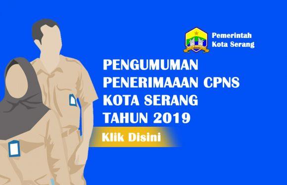 Berikut Pengumuman Rincian Formasi Penerimaan CPNS Kota Serang 2019